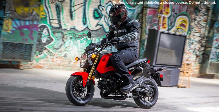 Honda Grom on Honda Engine Scheme