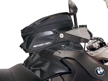 Bagster tank bag on BMW R 1200 GS