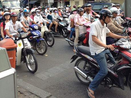 Motorcycles in asia