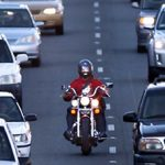 Lane-splitting concern in California
