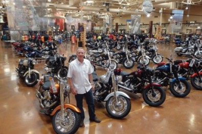 Chris at Red Rock Harley