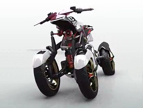 Yamaha four-wheeler