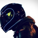 Light up your motorcycle helmet for safety