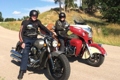 John Munro and MotorbikeWriter on the Indian Scout and Roadmaster