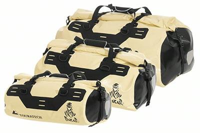 Touratech Dakar-coloured bags