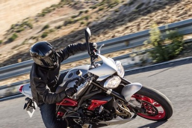 Triumph Street Triple XR tiger