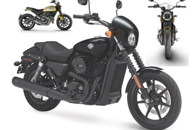 Harley and Ducati top our 2015 model poll