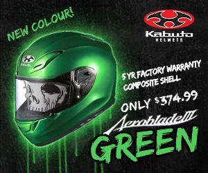 MotoNational Kabuta helmet ad