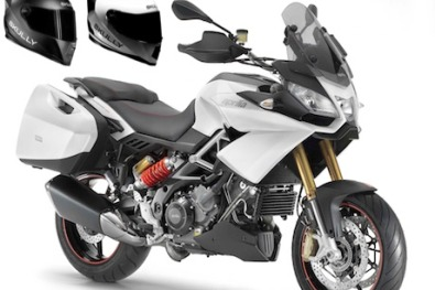 Aprilia joins forces with Skully