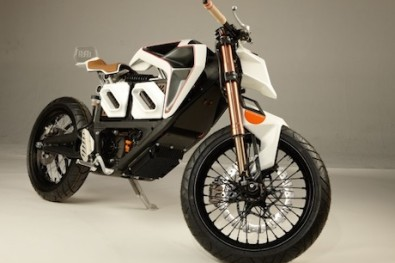 Zero electric motorcycle customised by Bruno