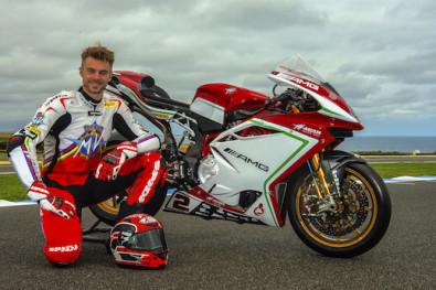 Leon Camier will race the MV Agusta F4 RC