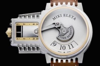 BMW boxer inspires Timeburner watch