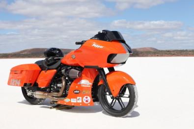 Pepper, the Harley Road Glide Speed Week missile