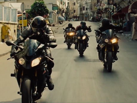 Mission Impossible 5 Car in Mission Impossible 5