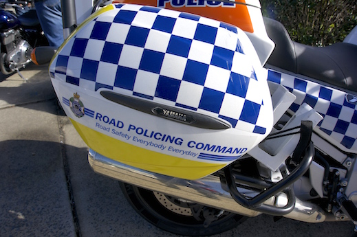 Police cops speed speeding sensation