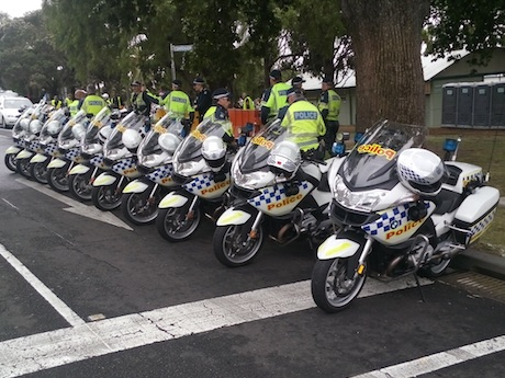 Мотоспорт: Новости ПДД, движения: Полиция Австралии готовится к MotoGP 18 октября