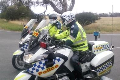 Police cops speed speeding