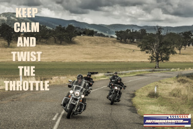 Harley riders break non-riding myth