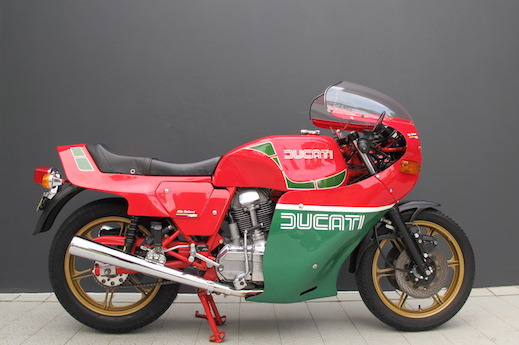 Ducati 900MHR at Shannons auction