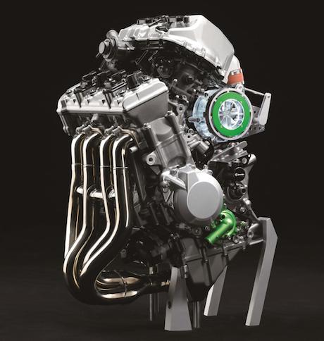 Kawasaki balanced supercharged engine