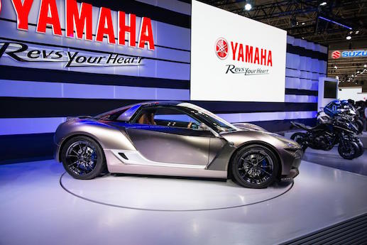 Yamaha car robot
