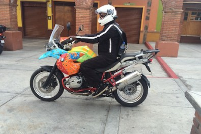 X-Over motorcycle bag