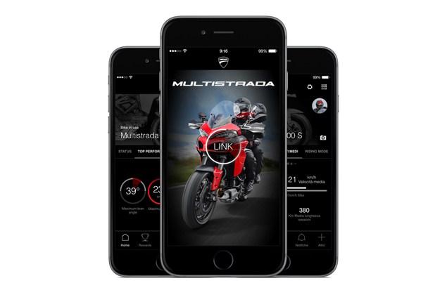 Ducati Multistrada Link apps