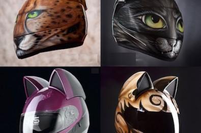 Neko-helmet with cat ears