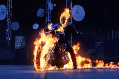 Ghost Rider Nicholas Cage fastest bike in the movies