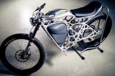 3D Light Rider bike