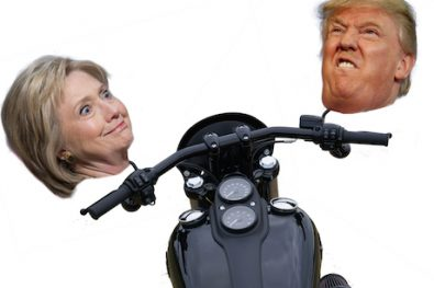 Presidential elections affect Harley-Davidson sales