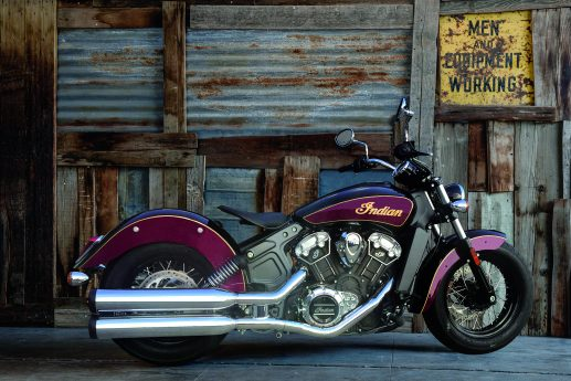 Third Indian Scout limited edition model