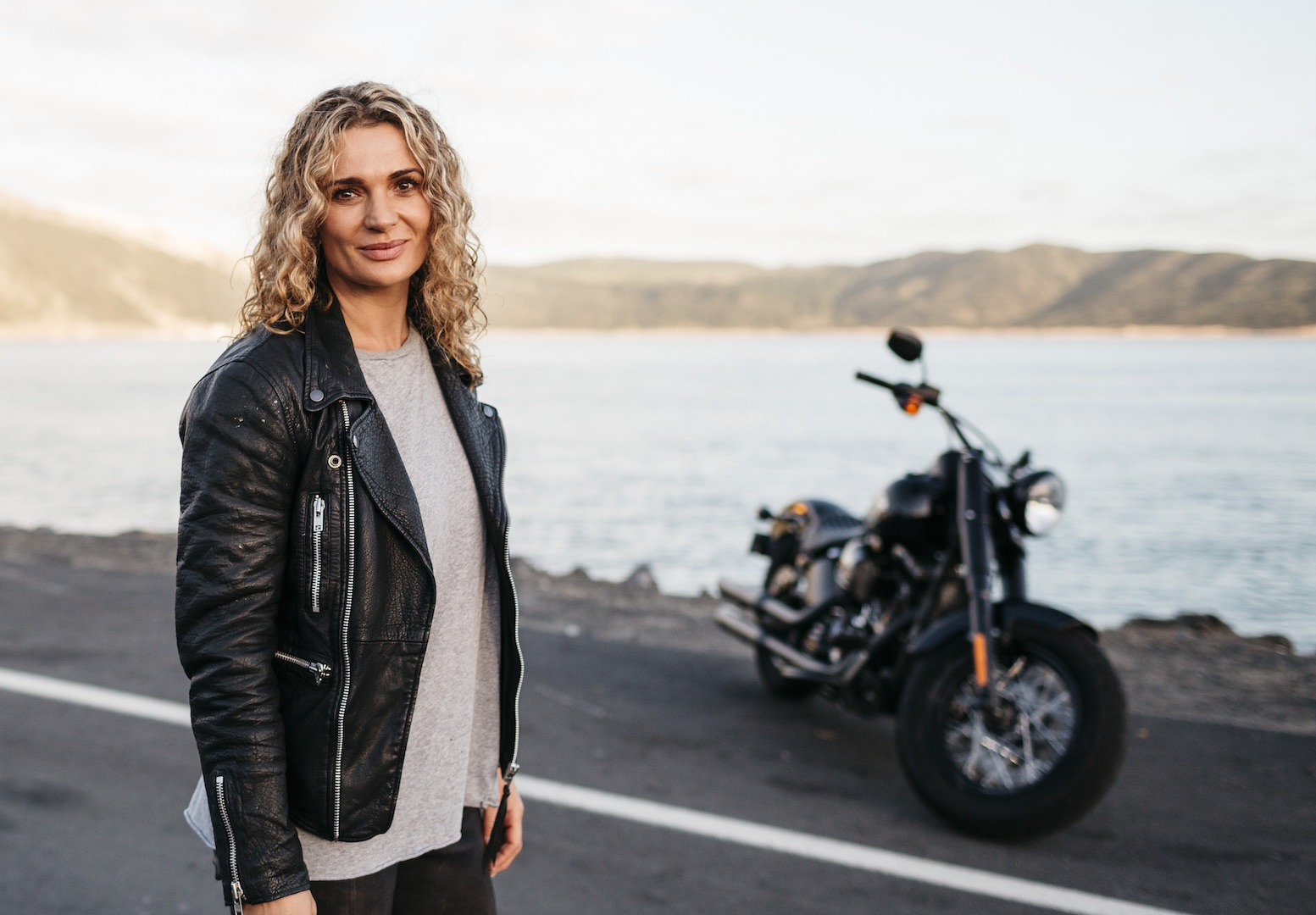 Actress Danielle Cormack - how a beautiful woman can distract a rider