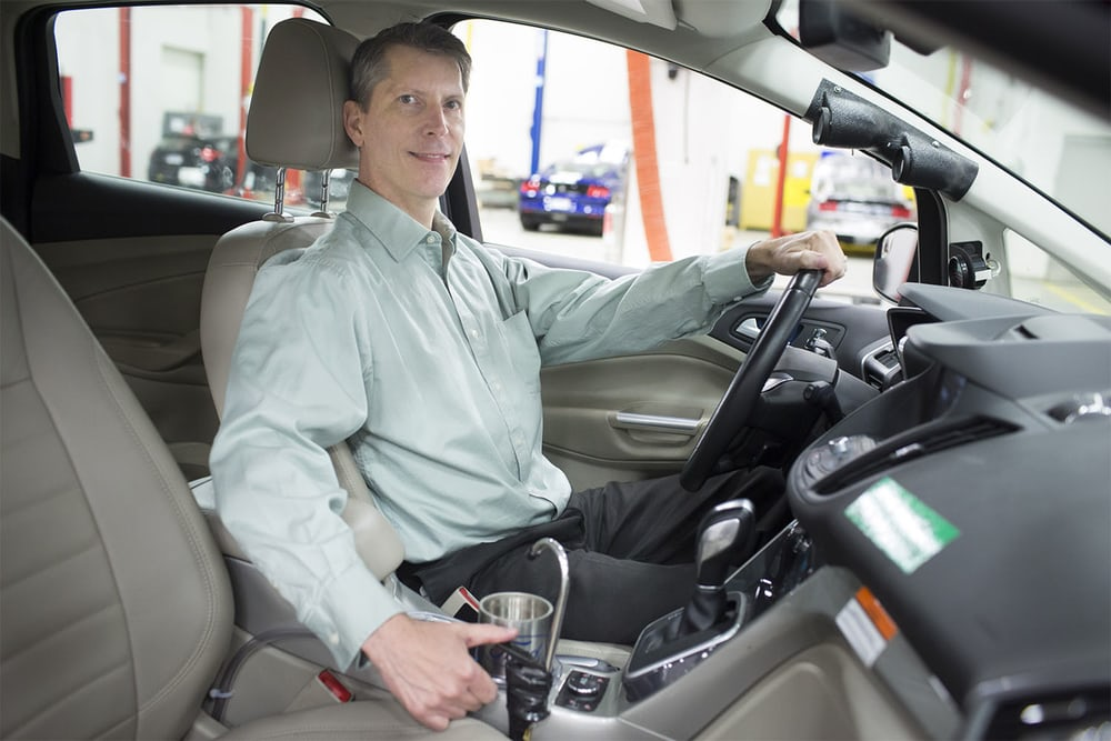 Ford may add another driver distraction