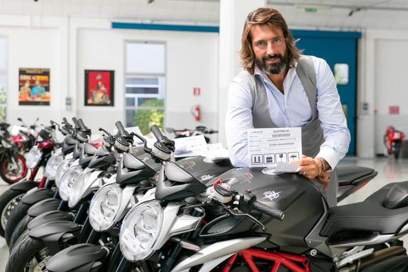 Giovanni Castiglioni MV Agusta boss surprises