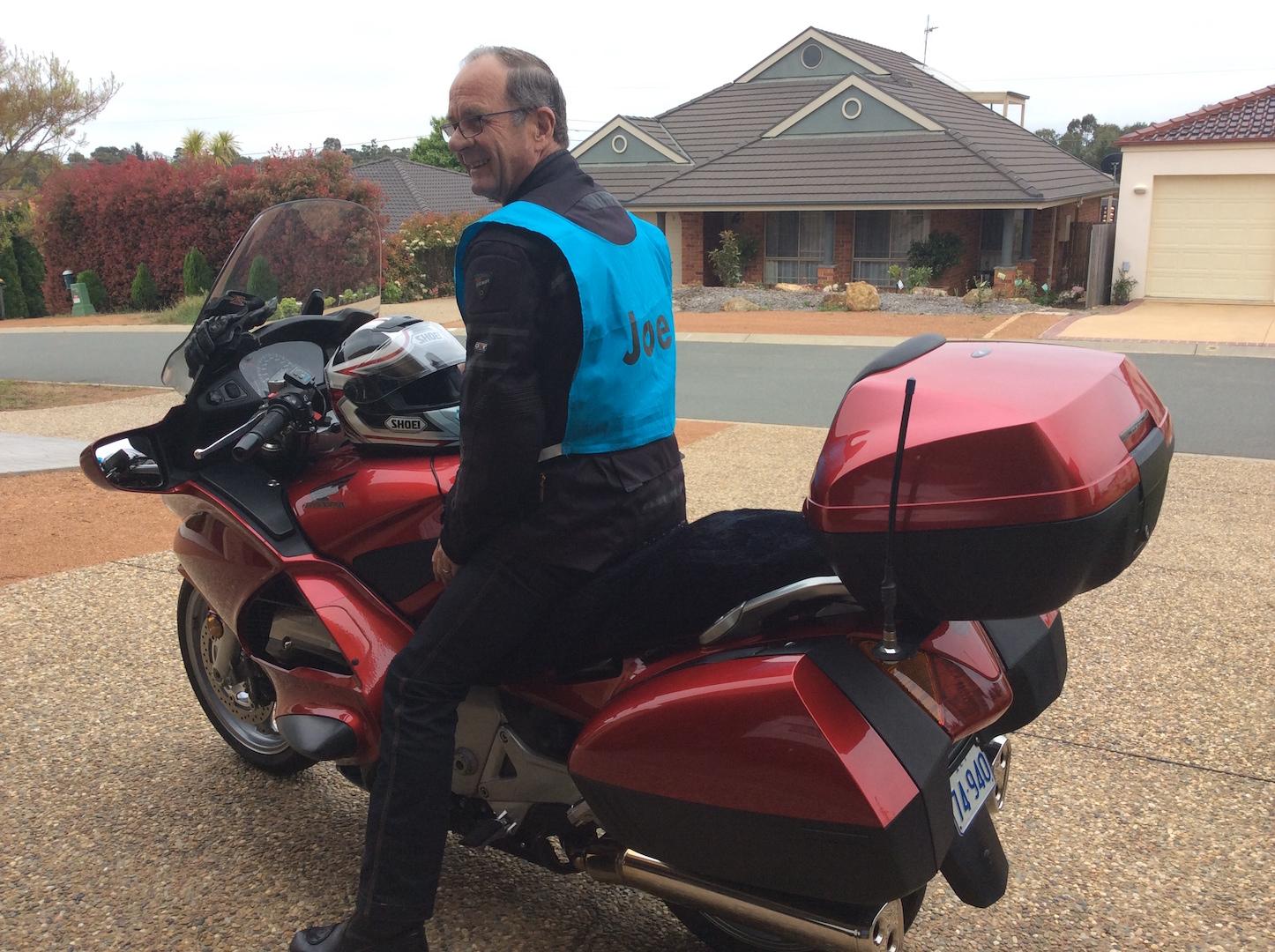 Joe Rider Motorcycle Awareness Month