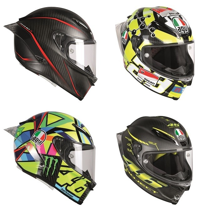 AGV Pista GP R with hydration system