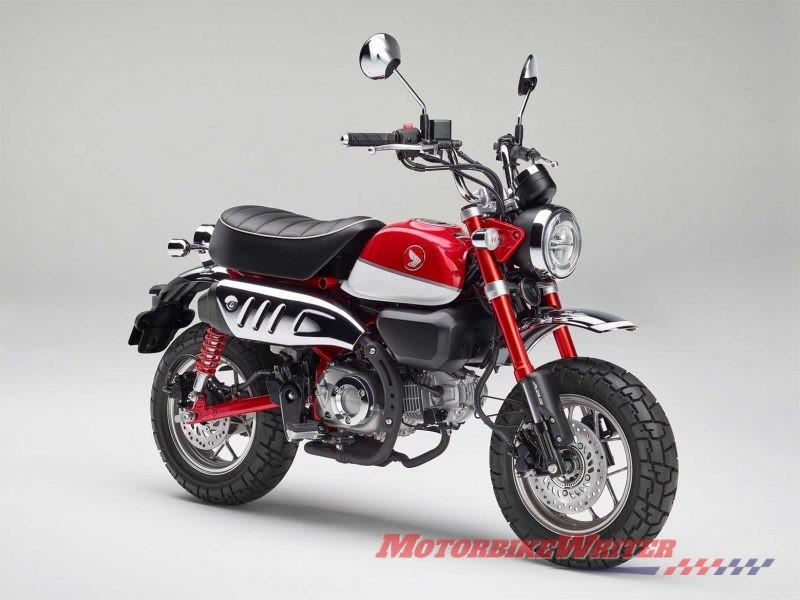 Hefty For New Honda Monkey Bike