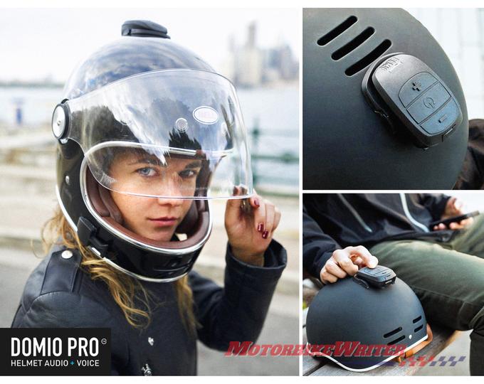 Domio Bluetooth Helmet Sound Concerns Motorbike Writer
