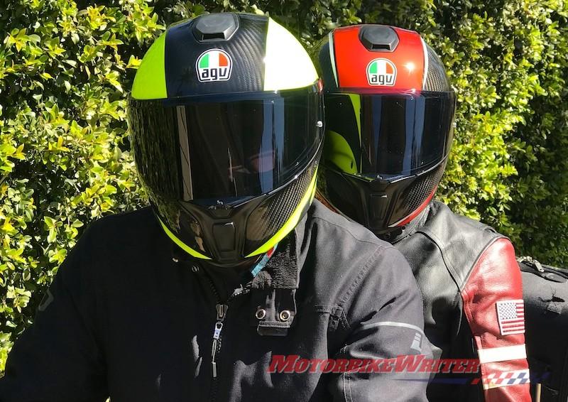 Agv Sportmodular Makes Light Work Of Touring Motorbike Writer