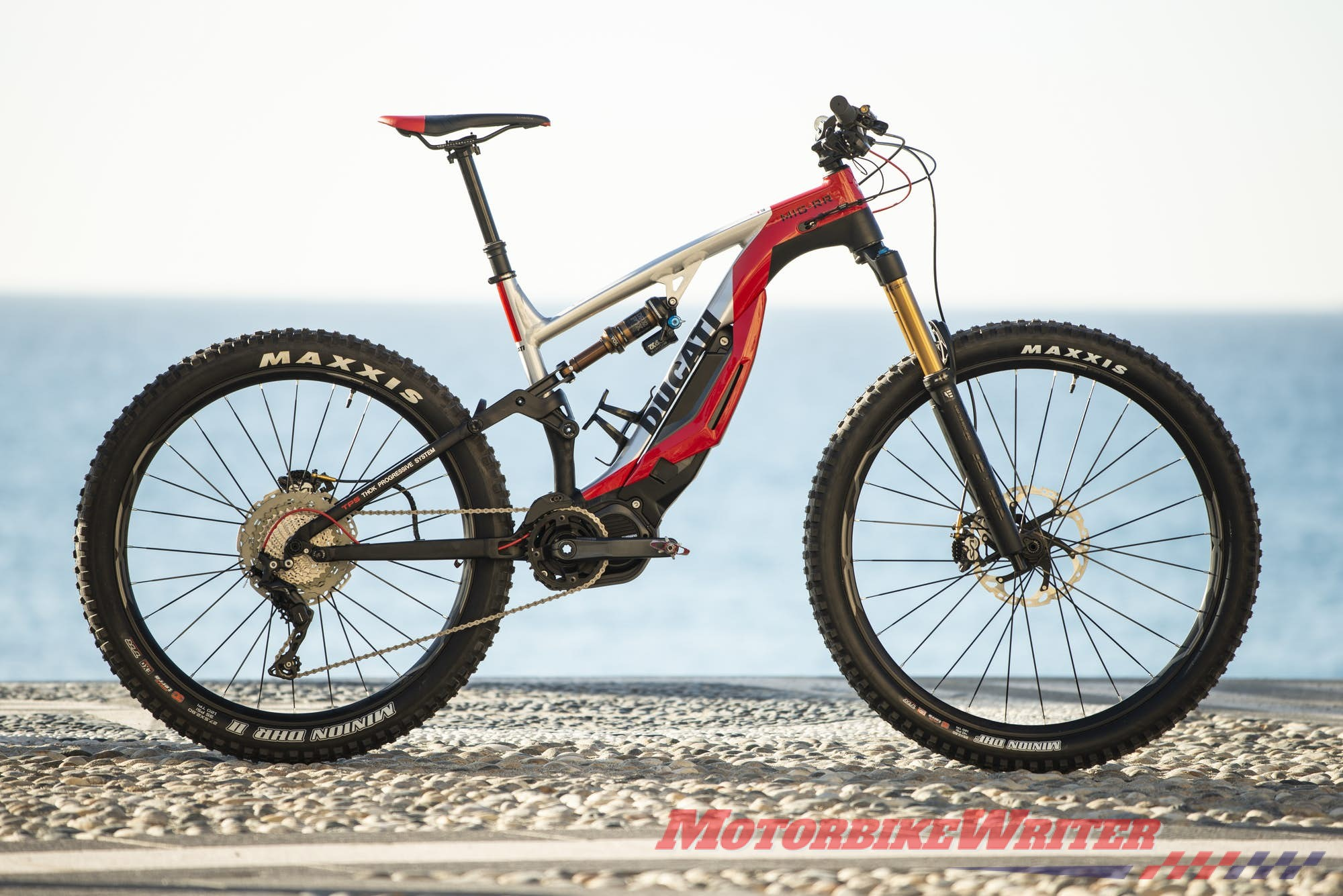 Ducati MIG-RR electric scooters mountain bike