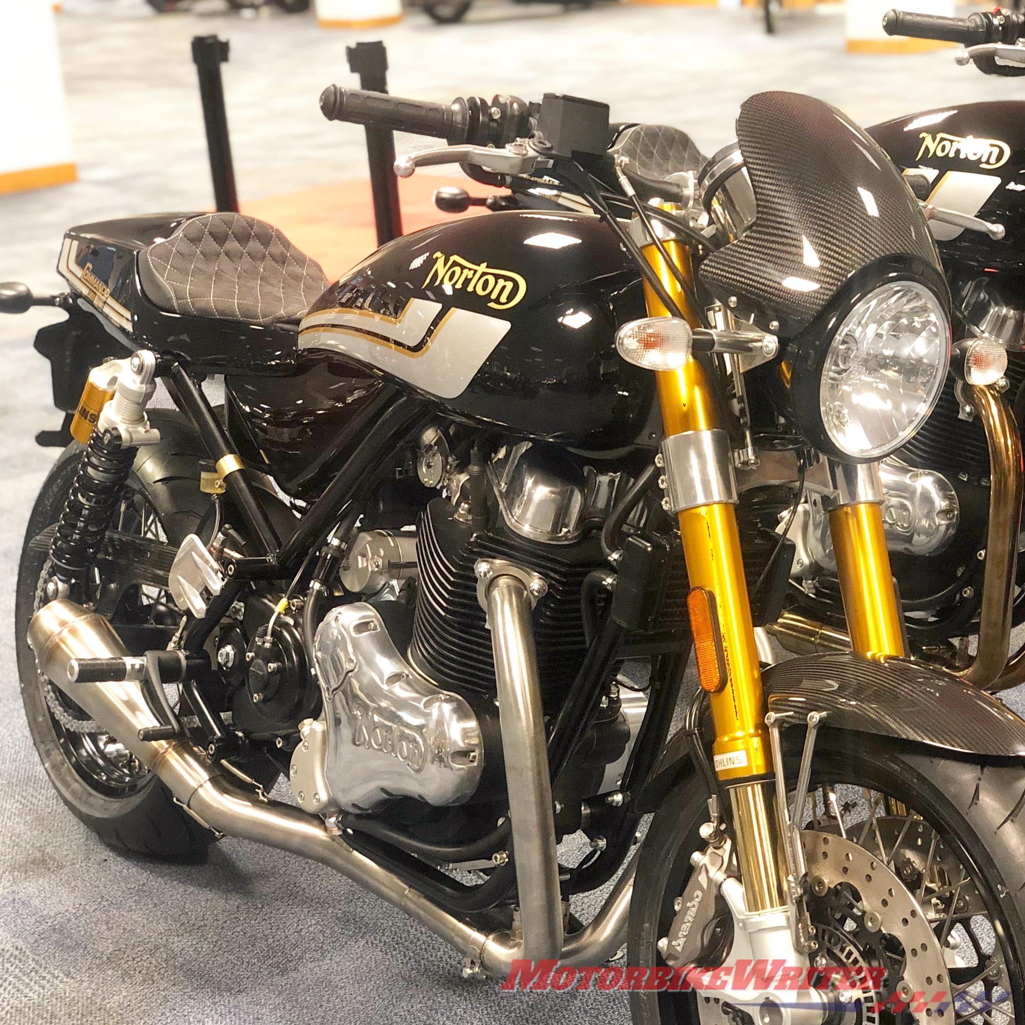 Norton Motorcycles Not Going Bust Motorbike Writer