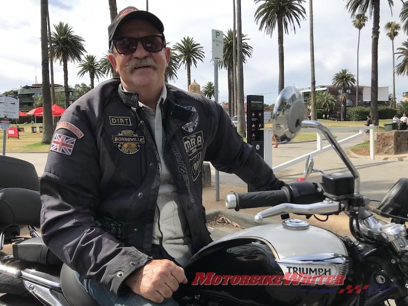 Lời kêu gọi của Rodney Brown Rider về những tấm vải dầu tử cung đã từ chối làn đường dành cho xe đạp
