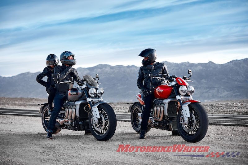 Triumph Rocket 3 comes in two more models