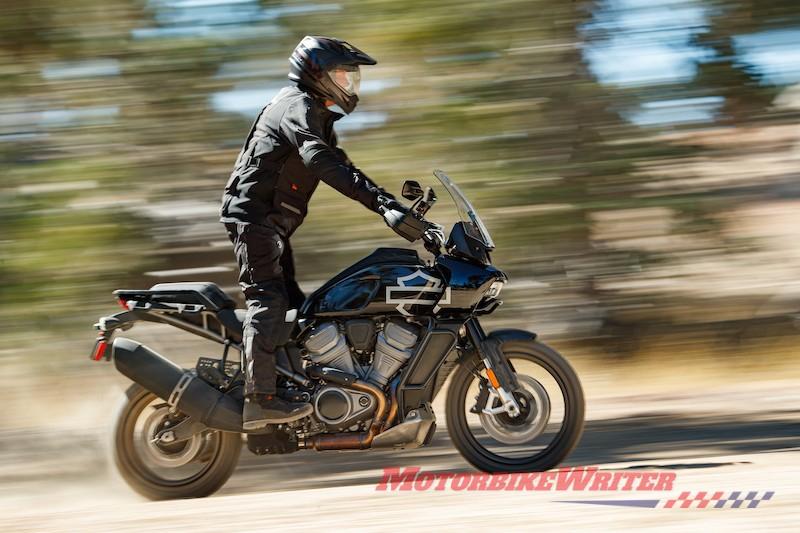Harley-Davidson Revolution Max platform Pan America 1250