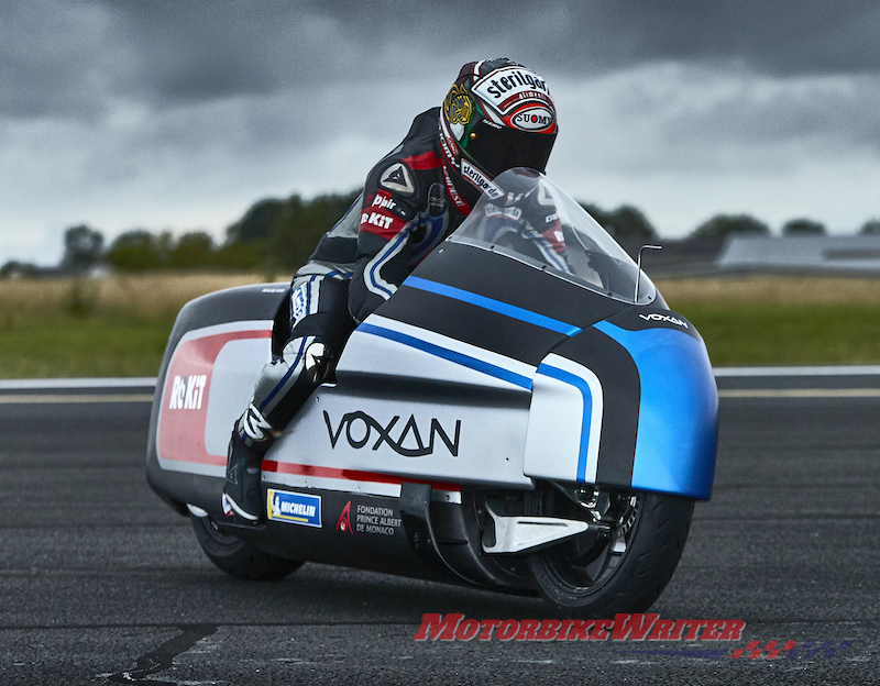 Fastest Electric Motorcycle Challenge