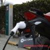 Evoke electric motorcycle