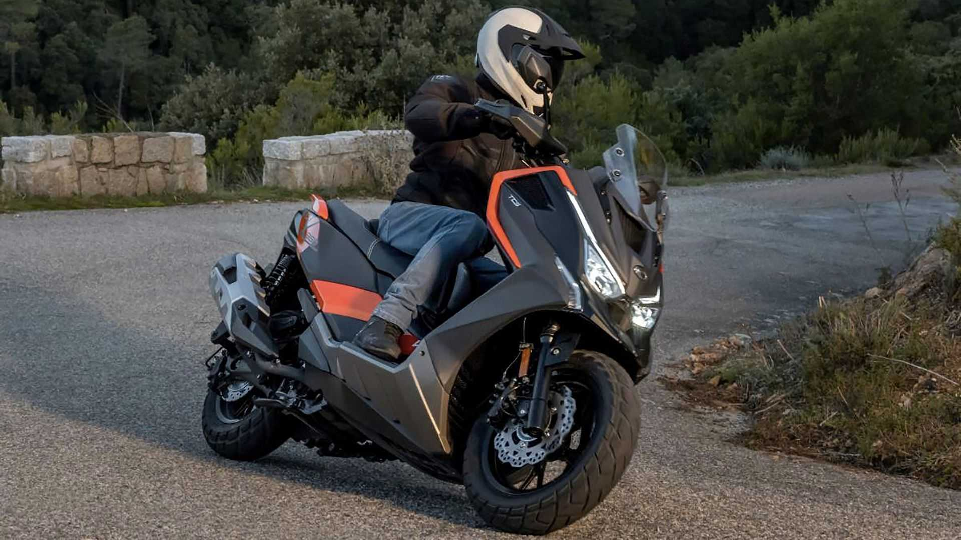 2021 Kymco DT X360 adventure scooter finally unveiled