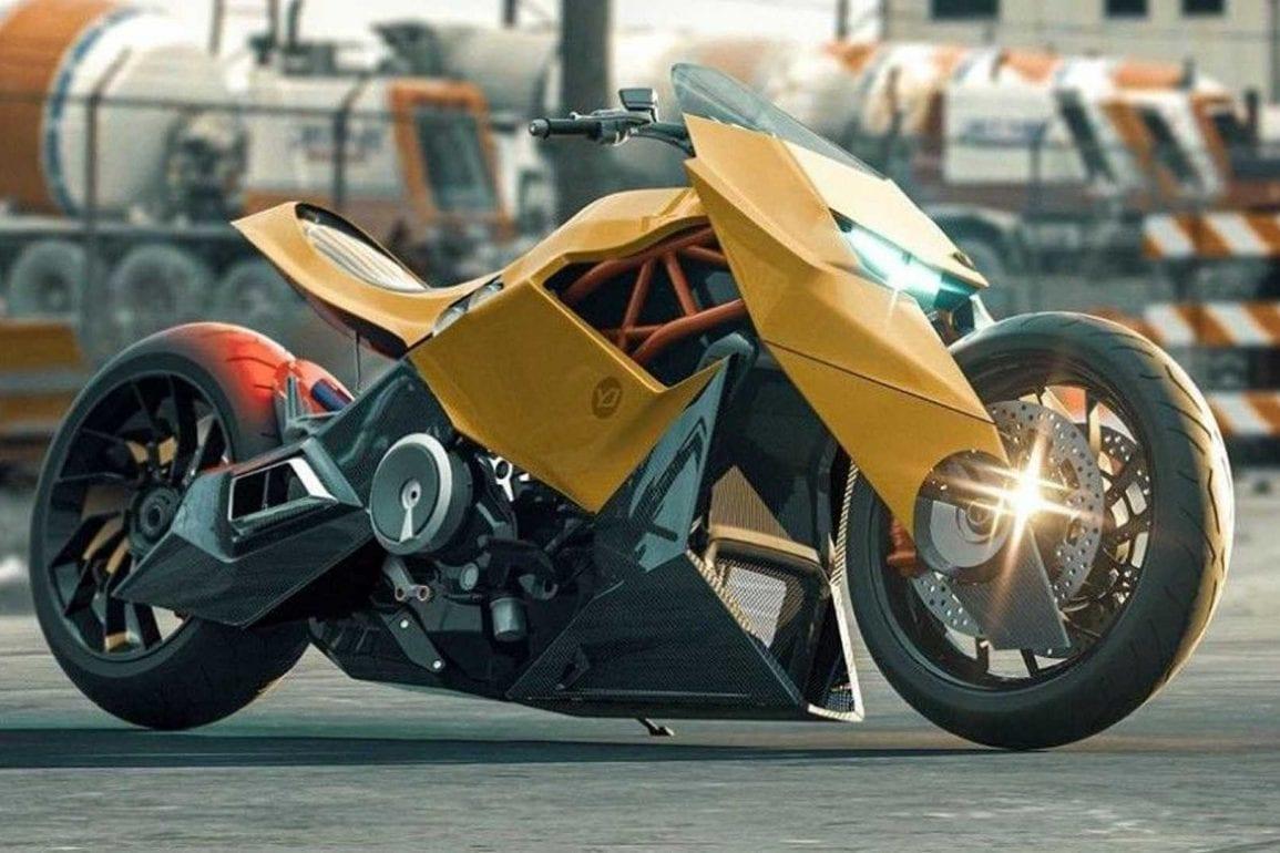 A Lamborghini Motorcycle Concept Motorbike Writer
