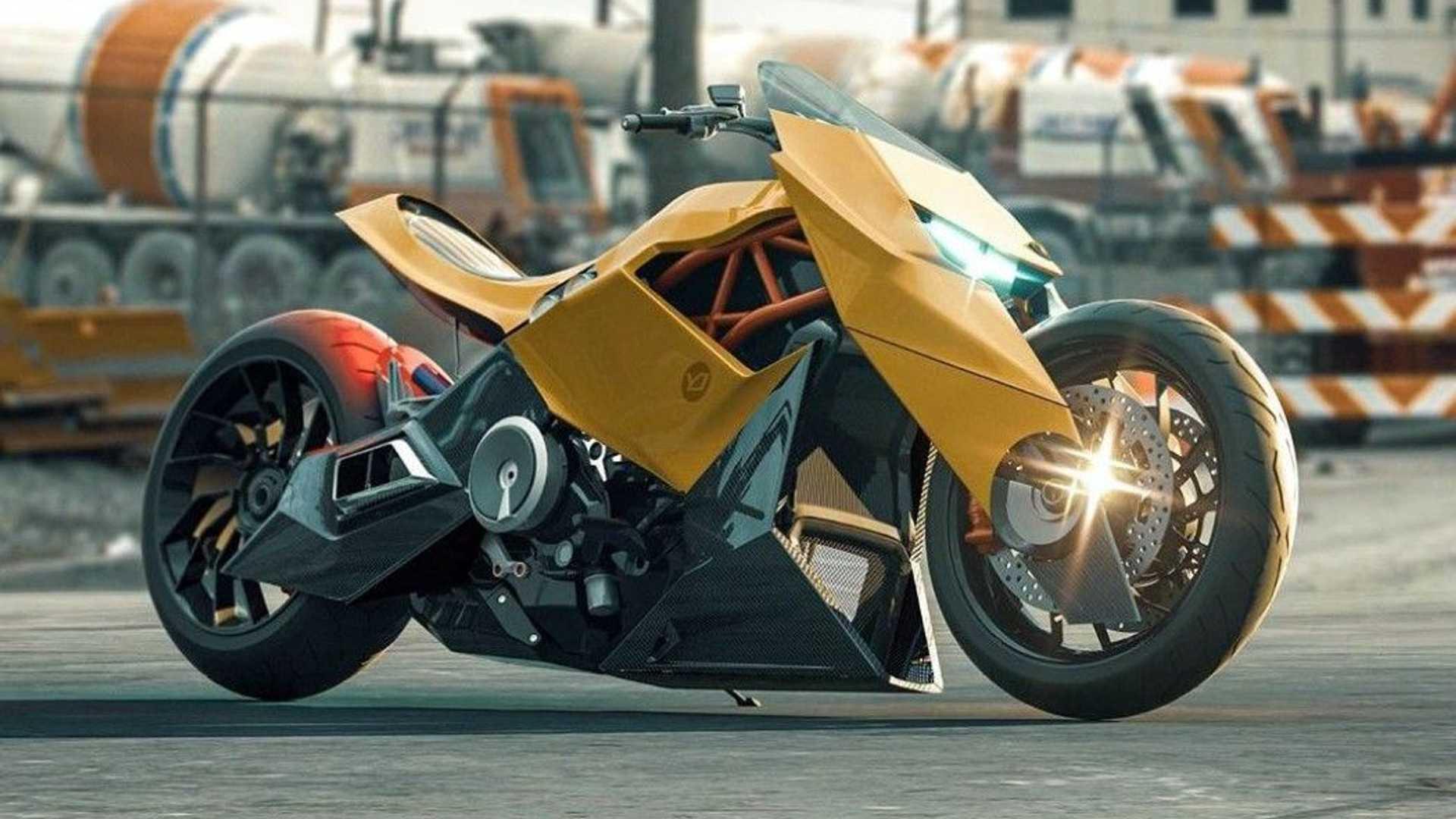 A Lamborghini Motorcycle Concept? - Motorbike Writer
